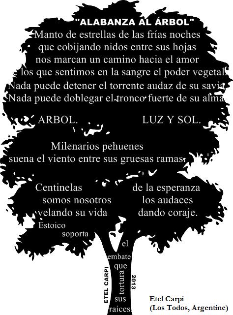 Poema de Etel Carpi (Los Toldos, Argentine)
